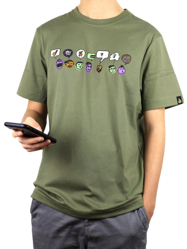 T-Shirts-Expression-Olive-Small-front
